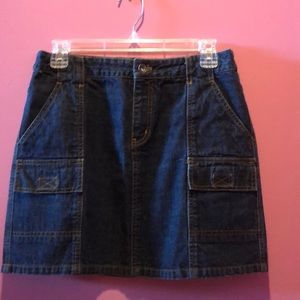 DKNY Jeans denim skirt